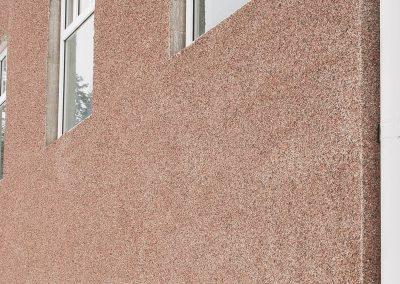 Laadukkaat betoniharkot, voidaan ulkopinta pinnoittaa esim. kuvan mukaisella pinnoitteella